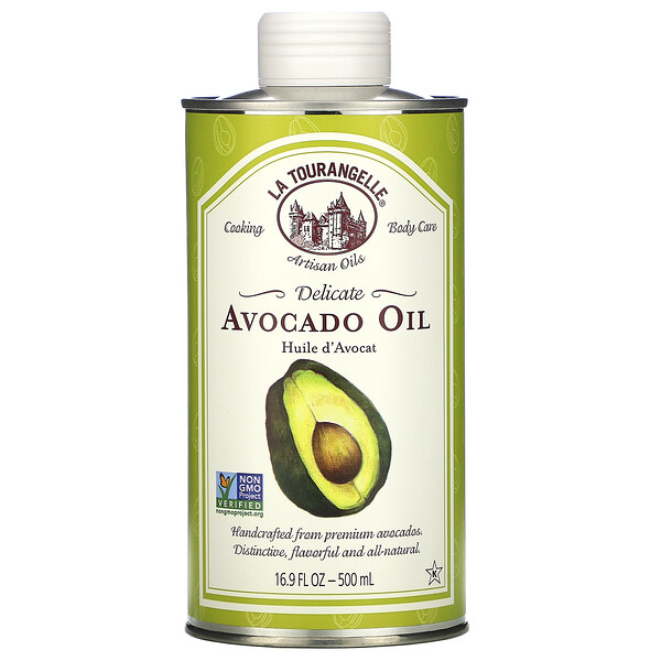 Delicate Avocado Oil, 16.9 fl oz (500 ml)