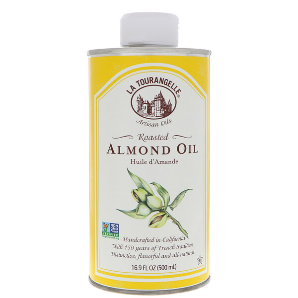 La Tourangelle, Roasted Almond Oil, 16.9 fl oz (500 ml)