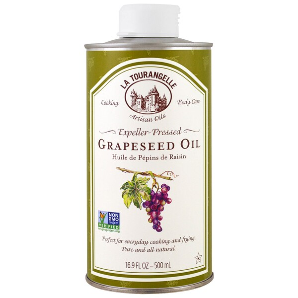 Expeller-Pressed Grapeseed Oil, 16.9 fl oz (500 ml)
