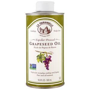 Ля Туранджель, Expeller-Pressed Grapeseed Oil, 16.9 fl oz (500 ml) отзывы покупателей
