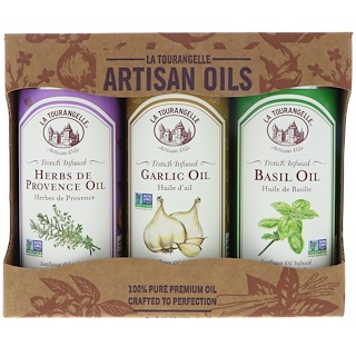 La Tourangelle, Trio Artisan Oils, 8.45 fl oz (250 ml) Each