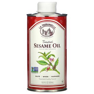La Tourangelle, Toasted Sesame Oil, geröstetes Sesamöl, 500ml (16,9fl. oz.)