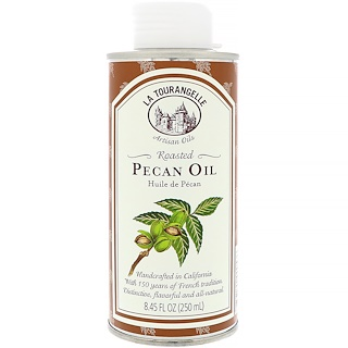 La Tourangelle, Pecan Oil, Roasted, 8.45 fl oz (250 ml)