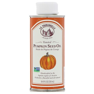 La Tourangelle, Pumpkin Seed Oil, Toasted, 8.45 fl oz (250 ml)