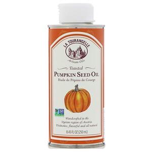 Ля Туранджель, Toasted Pumpkin Seed Oil, 8.45 fl oz (250 ml) отзывы покупателей