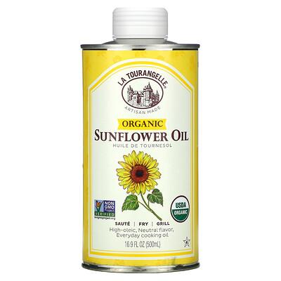La Tourangelle Organic Sunflower Oil, 16.9 fl oz (500 ml)