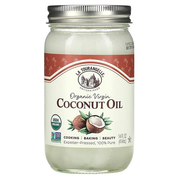 Organic Virgin Coconut Oil, 14 fl oz (414 ml)