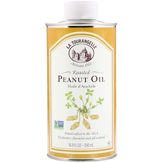 La Tourangelle, Roasted Peanut Oil, 16.9 fl oz (500 ml)