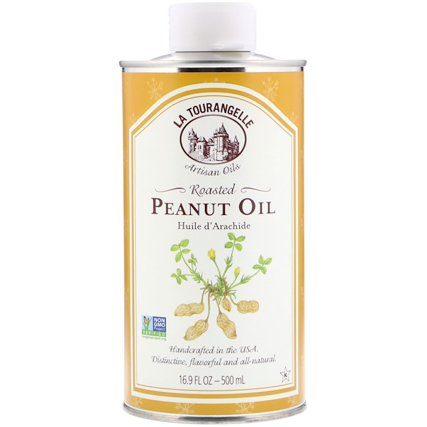La Tourangelle, Roasted Peanut Oil, 16.9 fl oz (500 ml) (Discontinued Item)