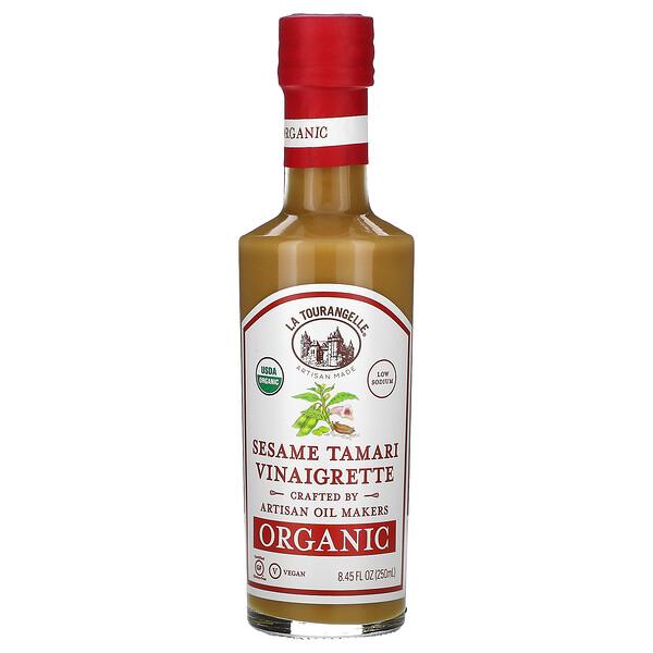 Organic Vinaigrette, Sesame Tamari , 8.45 fl oz (250 ml)