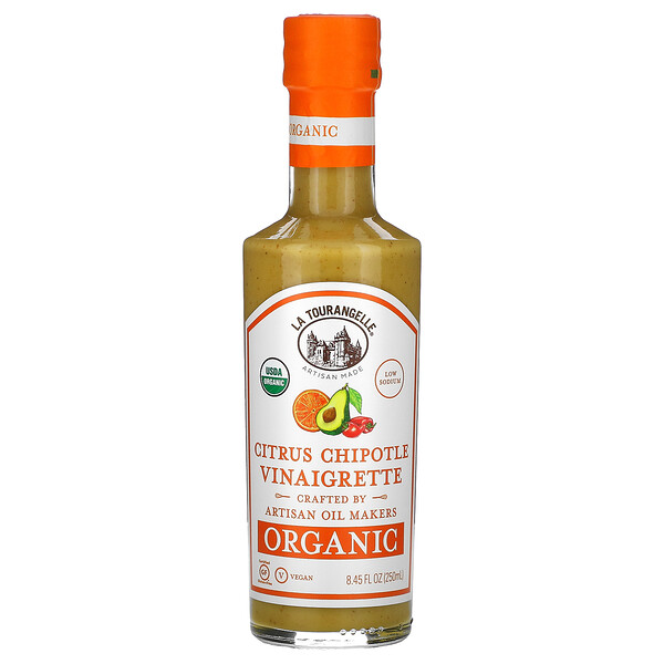 Organic Vinaigrette, Citrus Chipotle, 8.45 fl oz (250 ml)