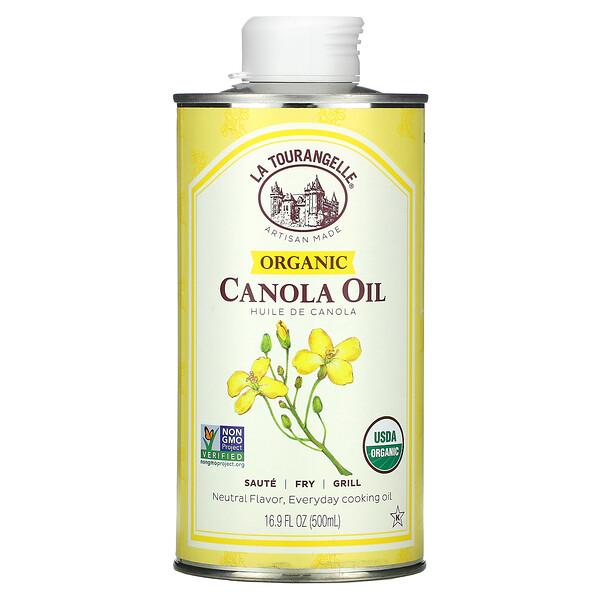 La Tourangelle, Organic Canola Oil, 16.9 fl oz (500 ml)