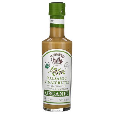 La Tourangelle Organic Balsamic Vinaigrette, 8.45 fl oz (250 ml)