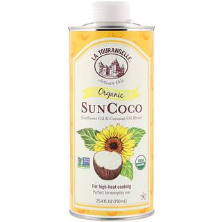 La Tourangelle, Organic Sun Coco, Sunflower Oil & Coconut Oil Blend, 25.4 fl oz (750 ml)