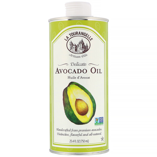 La Tourangelle, Delicate Avocado Oil, 25.4 fl oz (750 ml)
