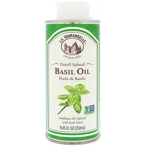 Ля Туранджель, French Infused Basil Oil, 8.45 fl oz (250 ml) отзывы покупателей