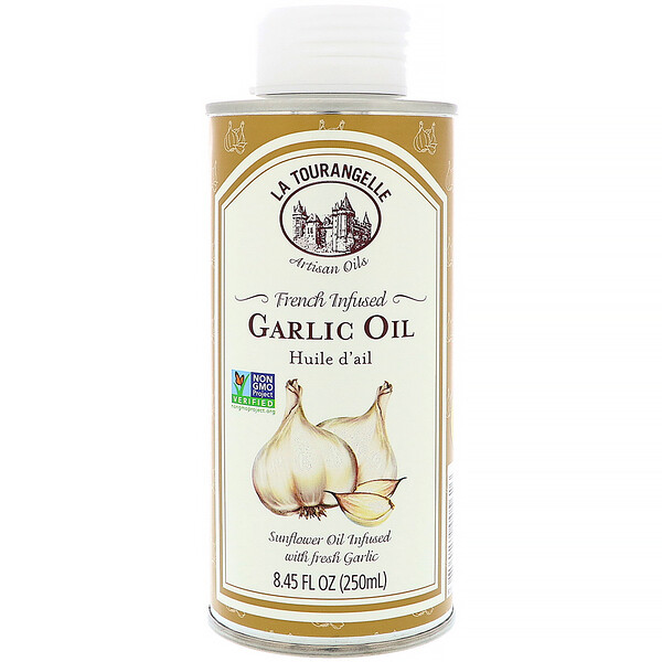 La Tourangelle, French Infused Garlic Oil, 8.45 fl oz (250 ml)