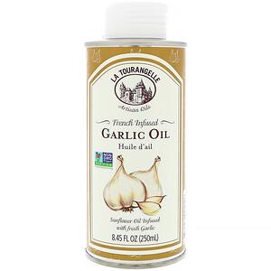 Ля Туранджель, French Infused Garlic Oil, 8.45 fl oz (250 ml) отзывы покупателей