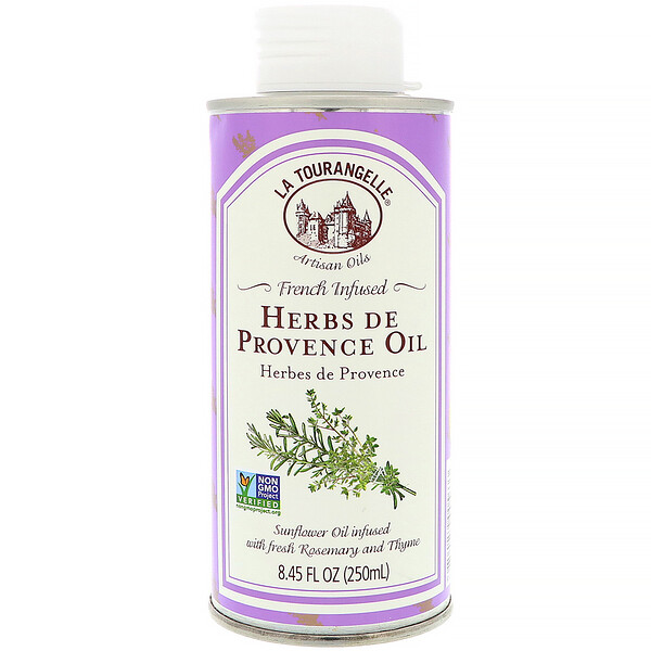 French Infused Herbs De Provence Oil, 8.45 fl oz (250 ml)