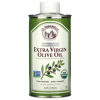 La Tourangelle, Organic Extra Virgin Olive Oil, 16.9 fl oz (500 ml)
