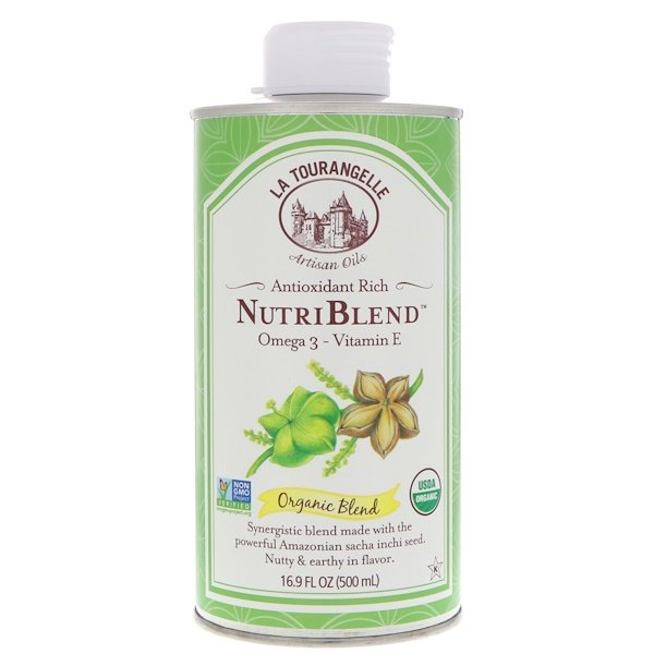 La Tourangelle, Organic Blend, NutriBlend, 16.9 fl oz (500 ml)