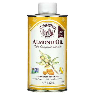 La Tourangelle Almond Oil, All-Purpose Cooking Oil, 16.9 fl oz (500 ml)