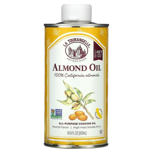 Almond Oil, All-Purpose Cooking Oil, 16.9 fl oz (500 ml)
