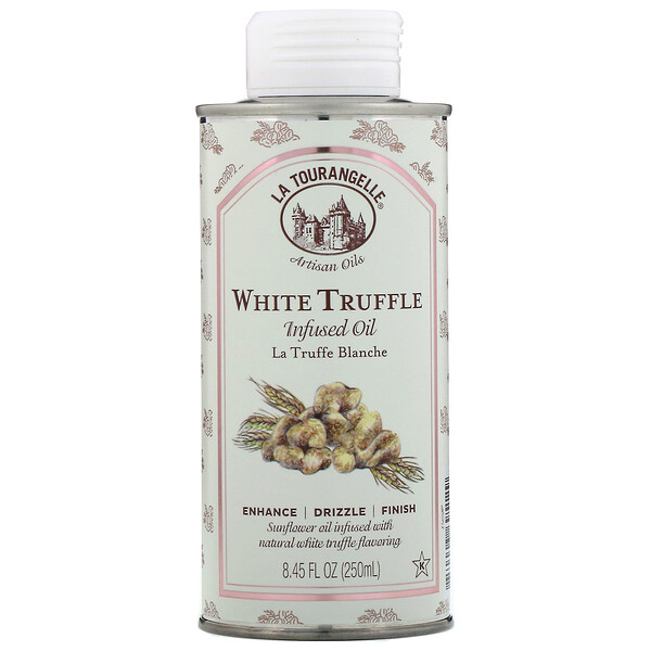 La Tourangelle, White Truffle Infused Oil, 8.45 fl oz (250 ml)