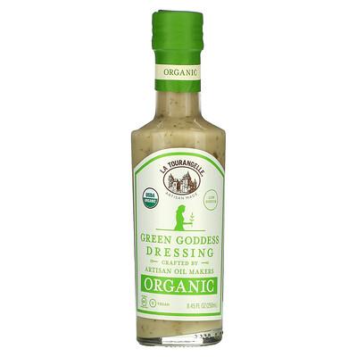 La Tourangelle Organic Green Goddess Dressing, 8.45 fl oz (250 ml)