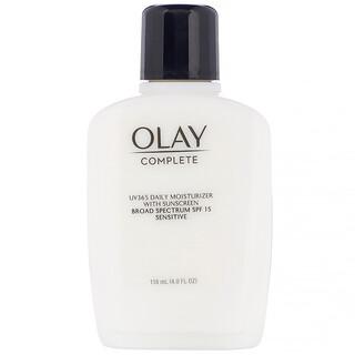 Olay, Complete, UV365 Daily Moisturizer, SPF 15, Sensitive, 4.0 fl oz (118 ml)