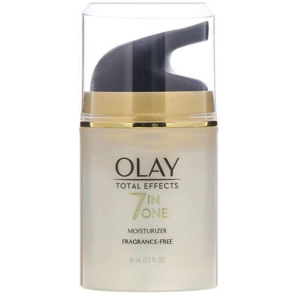 Olay, Total Effects, 7-in-One Moisturizer, Fragrance-Free, 1.7 fl oz (50 ml)