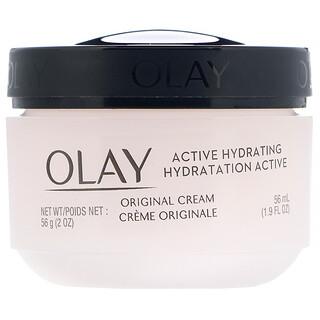 Olay, Active Hydrating, крем, оригинальный, 56мл (2жидк.унции)