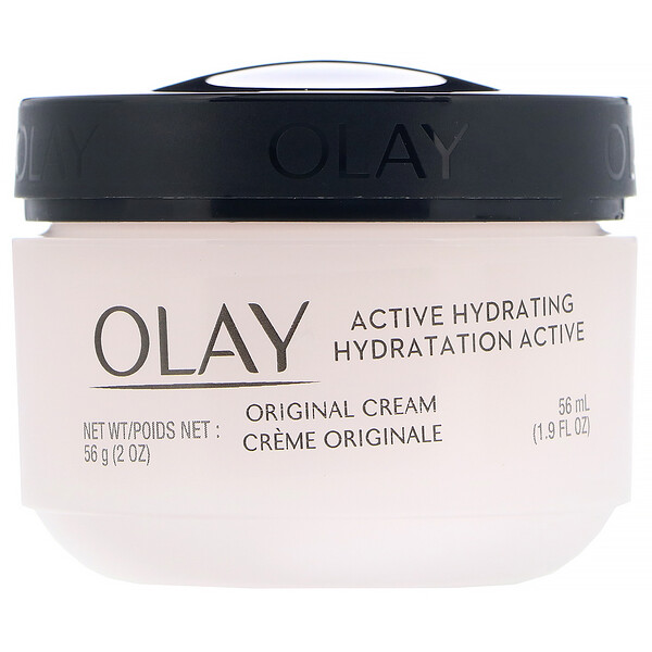 Olay, アクティブハイドレイティング、クリーム、オリジナル、56 ml(2 fl oz)