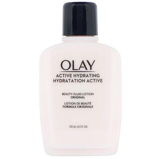 Olay, Active Hydrating, Beauty Fluid Lotion, Original, 4 fl oz (120 ml)
