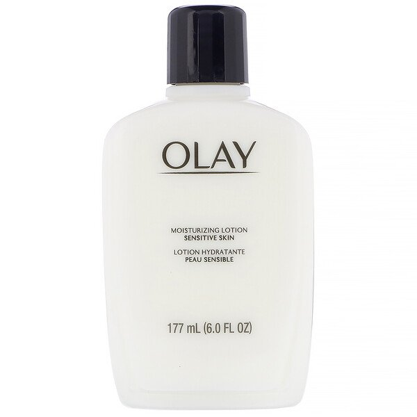 Olay, Moisturizing Lotion, Sensitive Skin, 6.0 fl oz (177 ml) (Discontinued Item)