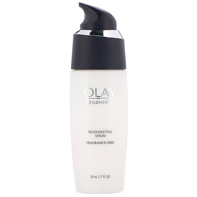 Купить Olay Regenerist, Regenerating Serum, Fragrance-Free, 1.7 fl oz (50 ml)