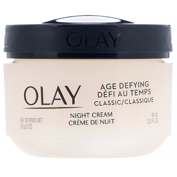 Age Defying, Classic, Night Cream, 2 fl oz (60 ml)