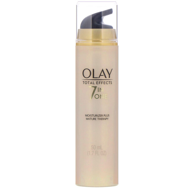 Olay, Total Effects, 7-in-One Moisturizer Plus Mature Therapy, 1.7 fl oz (50 ml)