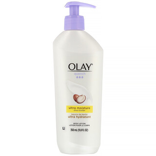 Olay, Quench, ультраувлажнение, лосьон для тела, масло ши, 350мл (11,8жидк.унции)