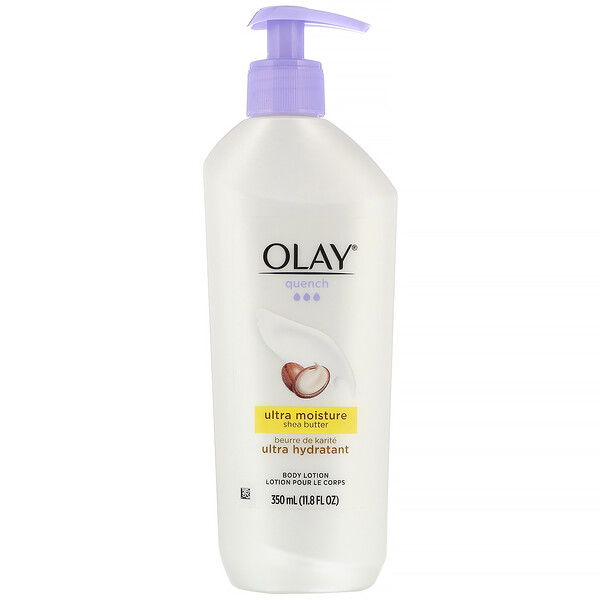 Olay, Quench, Ultra Moisture Body Lotion, Shea Butter, 11.8 fl oz (350 ml)