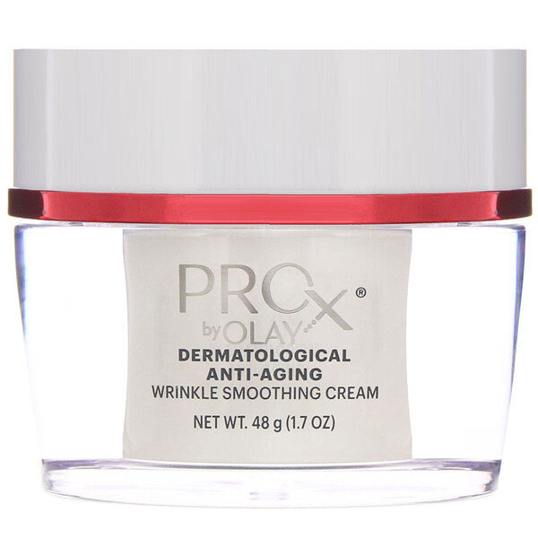 Olay, ProX, Dermatological Anti-Aging, Wrinkle Smoothing Cream, 1.7 oz (48 g) (Discontinued Item)