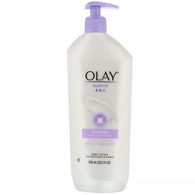 Купить Olay Quench, Shimmer, лосьон для тела, 600мл (20, 2жидк.унции)