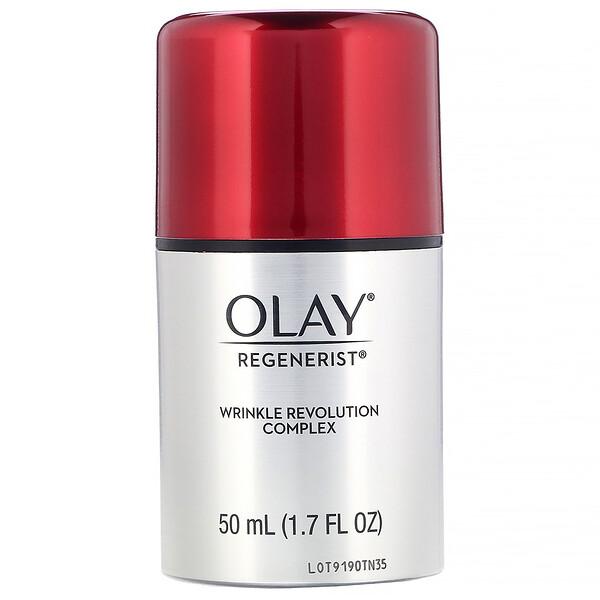 Olay, リジェネリスト、リンクルレボリューションコンプレックス、アドバンスドエイジングケアモイスチャライザー、50 ml(1.7 fl oz) (Discontinued Item)