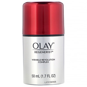 Olay, Regenerist, Wrinkle Revolution Complex, Advanced Anti-Aging Moisturizer, 1.7 fl oz (50 ml) отзывы покупателей