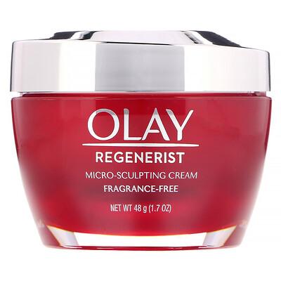 Купить Olay Regenerist, микромоделирующий крем, без отдушек, 48г (1, 7унции)