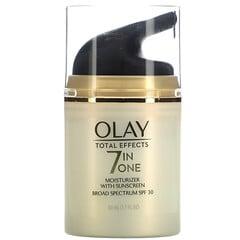 Olay, 優效修護,7 合 1 保濕霜,帶抗曬霜,SPF 30,1.7 液量盎司(50 毫升)