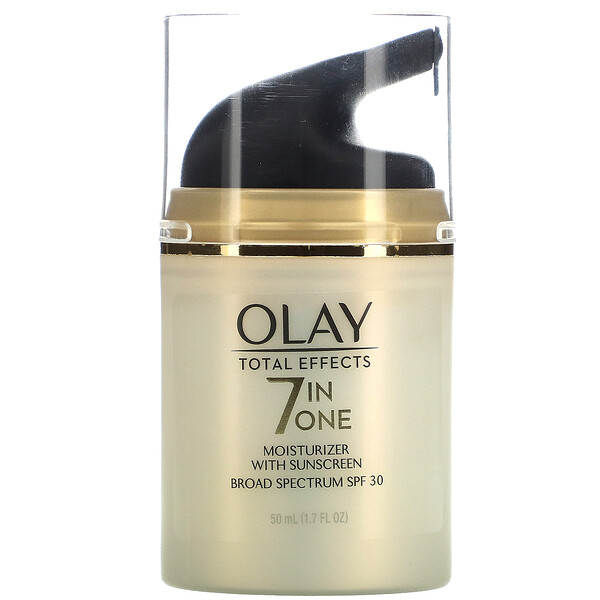 Total Effects, 7-in-One Anti-Aging Moisturizer with Sunscreen, SPF 30, 1.7 fl oz (50 ml)
