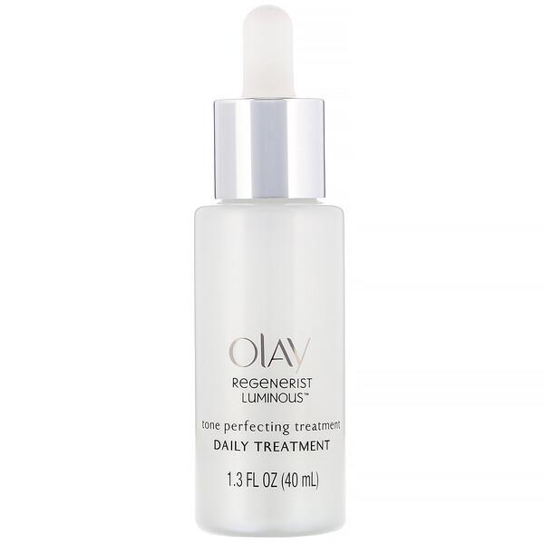 Olay, Regenerist Luminous, Tone Perfecting Treatment, 1.3 fl oz (40 ml) (Discontinued Item)