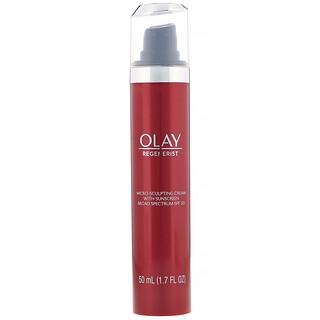 Olay, Regenerist, Micro-Sculpting Cream with Sunscreen, SPF 30, 1.7 fl oz (50 ml)