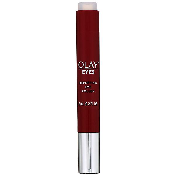 Olay, Eyes, Depuffing Eye Roller, 0.2 fl oz (6 ml)
